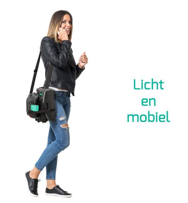 hifold licht en mobiel